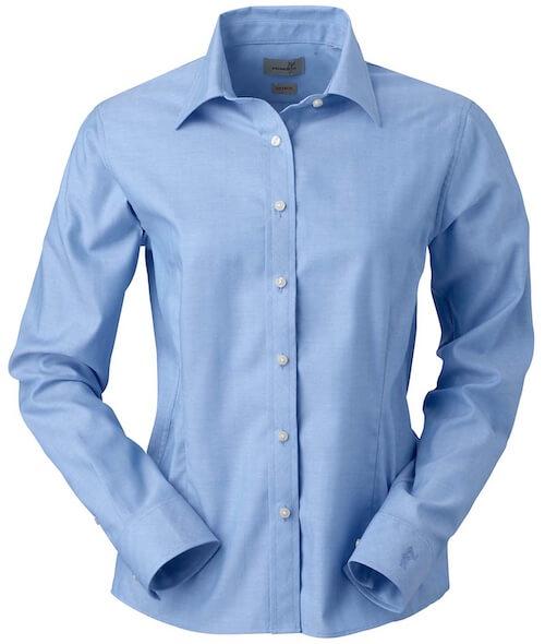 青色ワイシャツ