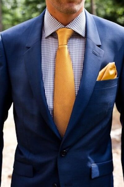 ネクタイの選び方着こなし