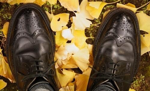 結婚式マナー違反革靴