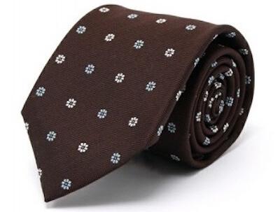 ネクタイの選び方小紋