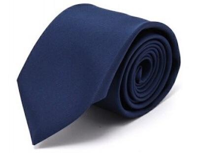 ネクタイの選び方無地