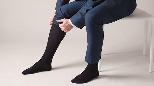 結婚式靴下