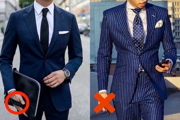 スーツ ネイビー ネイビースーツの華麗な着こなし。色気のある男のコーデ術