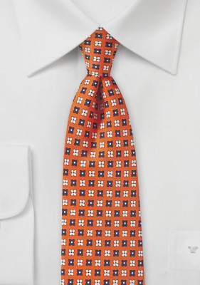 https://www.bows-n-ties.com/Flower-Print-Tie-in-Orange-Peach-and-Navy.html