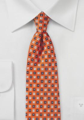 https://www.bows-n-ties.com/Flower-Print-Tie-in-Orange-Peach-and-Navy.html