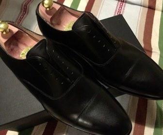 革靴手入れ新品
