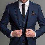 スーツのベスト着こなし