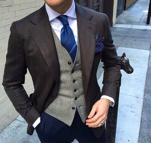 スーツのベストだけ買う