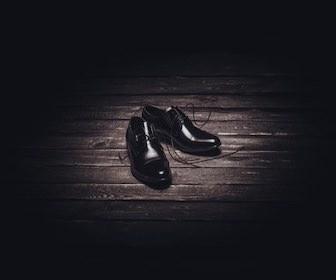 革靴手入れ傷補修