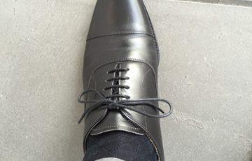 革靴と靴下