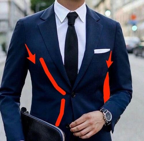 スーツのサイズ