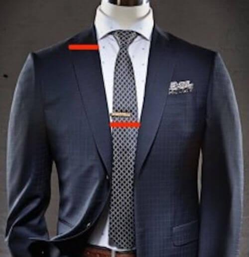 ネクタイの幅