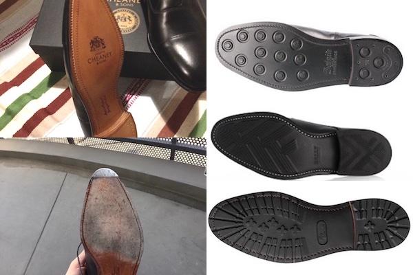 革靴ソール種類
