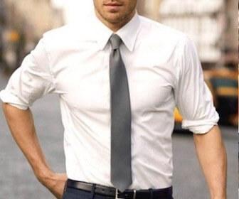 ワイシャツとネクタイの組み合わせ
