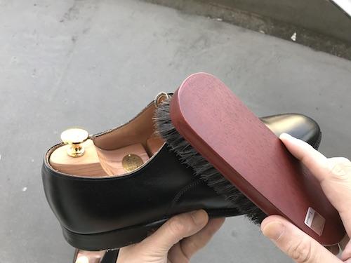 革靴の手入れ2