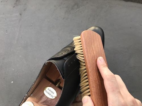 革靴の手入れ14