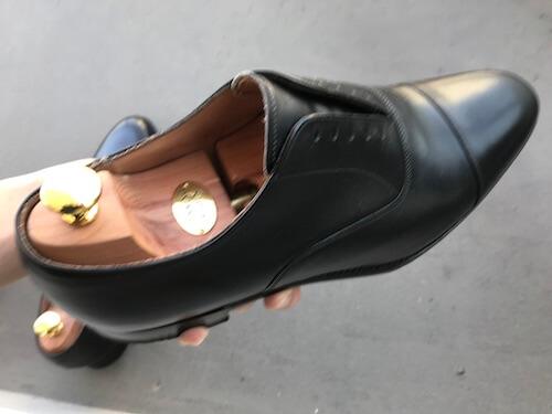 革靴の手入れ1