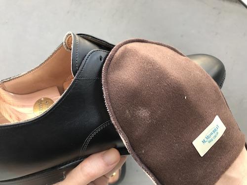 革靴の手入れ18
