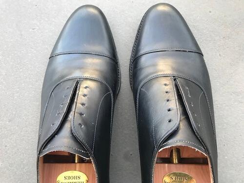 革靴の手入れ10
