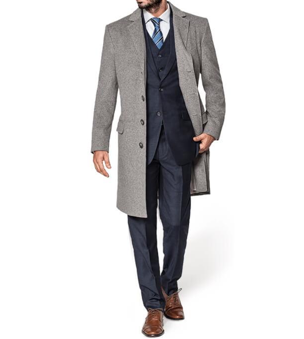 スーツコート着丈